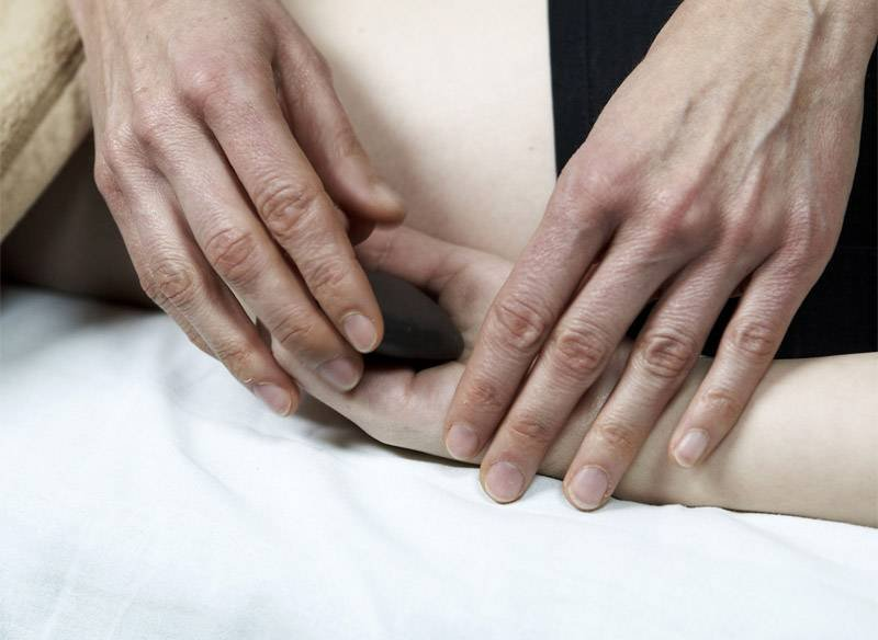 anleitung stone massage
