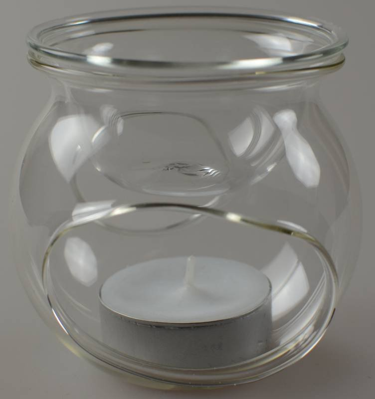 teelicht duftlampe aus glas ca 8 cm massage expert. Black Bedroom Furniture Sets. Home Design Ideas