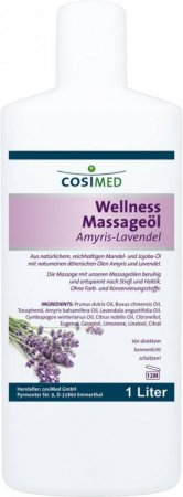 Wellness-Massageöl Amyris-Lavendel von cosiMed