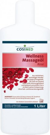 Wellness-Massageöl Rose von cosiMed