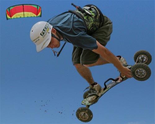 Kite-Landboarding Progression DVD