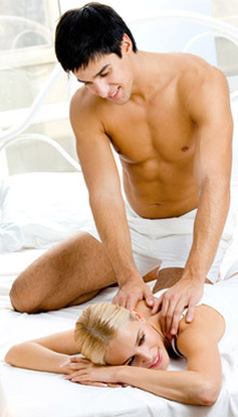Hot Stone Massage als Partnermassage