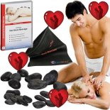 Hot Stone Set Partnermassage, Perfekt zum Valentinstag