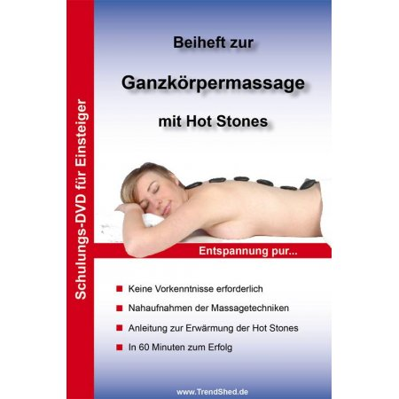 DVD Anleitung Hot Stone Massage