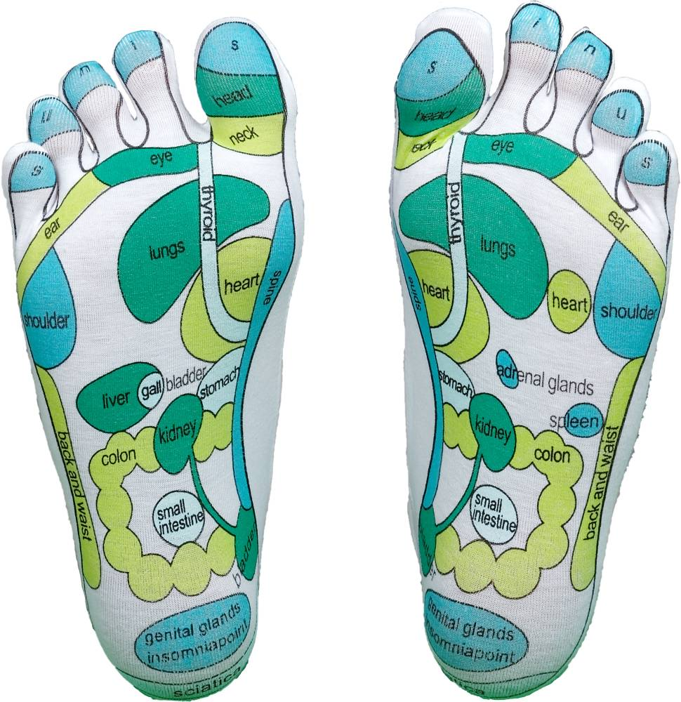 Fußreflexzonen Socken
