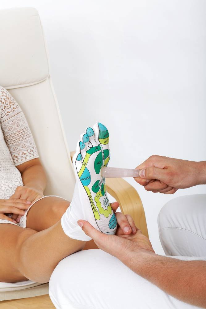 Reflexzonen Socken